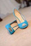 Blue Shoes Stock Photos