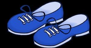 Blue, Shoes, Kids, Footwear Royalty Free Stock Photo