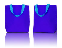 Blue shopping bag Royalty Free Stock Images