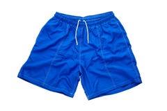 Blue short Stock Image
