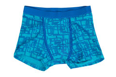Blue shorts. Royalty Free Stock Photos