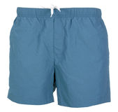 Blue shorts isolated Stock Photography