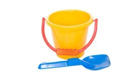 Blue shovel Royalty Free Stock Image