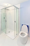 Blue shower Stock Photos