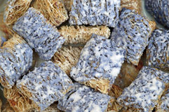 Blue Shredded Wheat Stock Photos