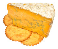 Blue Shropshire Cheese Royalty Free Stock Photo