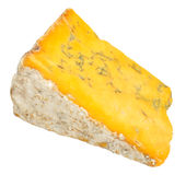 Blue Shropshire Cheese Stock Images