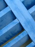 Blue shutter close-up Royalty Free Stock Image