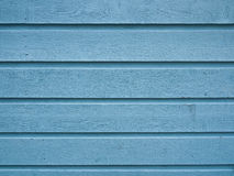 Blue siding Stock Photo