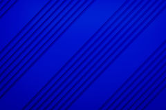 Blue siding oblique line layout paper material background 3d ren Royalty Free Stock Photos