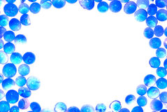 Blue silica gel desiccant frame Stock Photography