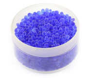 Blue silica gels Stock Images