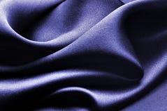 Blue silk. Waves - elegant back ground stock image