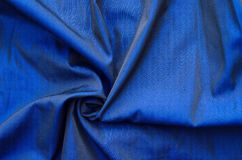 Blue silk Royalty Free Stock Photo