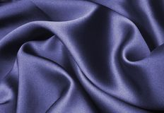 Blue silk stock photos
