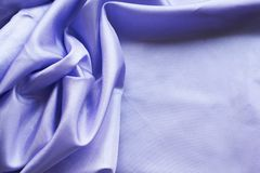 Blue silk background. With place Stock Photo