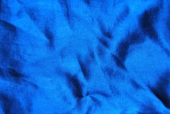 Blue silk background Stock Images