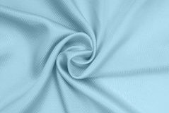 Blue silk fabric Stock Photos