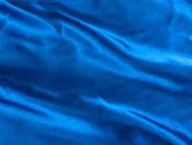 Blue Silk luxury. Stock Images