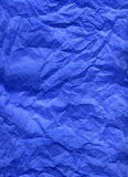 Blue silk paper Stock Images