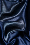 Blue silk satin background Royalty Free Stock Photo