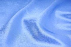 Blue Silk Textile Royalty Free Stock Photos