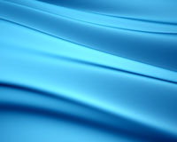 Blue silky background Royalty Free Stock Images