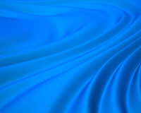 Blue silky background Royalty Free Stock Photo