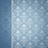 Blue and silver background Royalty Free Stock Photography