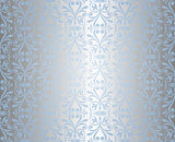Blue & silver holiday background Royalty Free Stock Photo