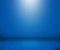 Blue Simple Empty Background Stock Photo