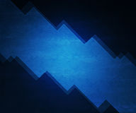 Blue Simple Sharp Background Royalty Free Stock Photo