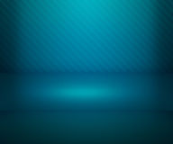 Blue Simple Spotlight Stage Background Royalty Free Stock Images