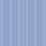 Blue simple stripes abstract seamless vector pattern,  primitive Stock Photo