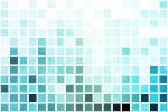 Blue Simplistic and Minimalist Abstract. Block Background stock illustration