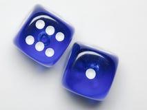 blue sju Arkivbilder