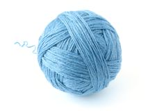 Blue skein Royalty Free Stock Photography