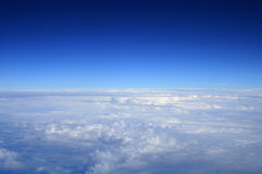 Blue skies Stock Image