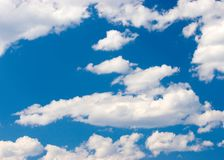 Blue skies. High clouds in blue skies Stock Images