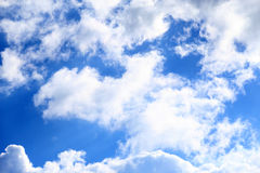 Blue skies and clouds Royalty Free Stock Photography