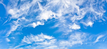 Blue skies Stock Photography