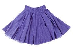 Blue skirt Stock Photos