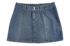 Blue Skirt Stock Photos