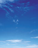 Blue Sky. A very clear Blue Sky Royalty Free Stock Photo