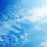 Blue sky. Royalty Free Stock Photos