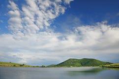 Blue sky. In bulgarian mountains stock photos