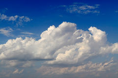 Blue Sky. And various cloud formations Royalty Free Stock Photography