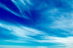 The blue sky. Stock Photos