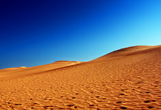 Blue sky. And dunes Stock Image