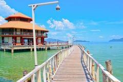 Blue sky. Holiday travel kohWai kohchang thailand Royalty Free Stock Photography